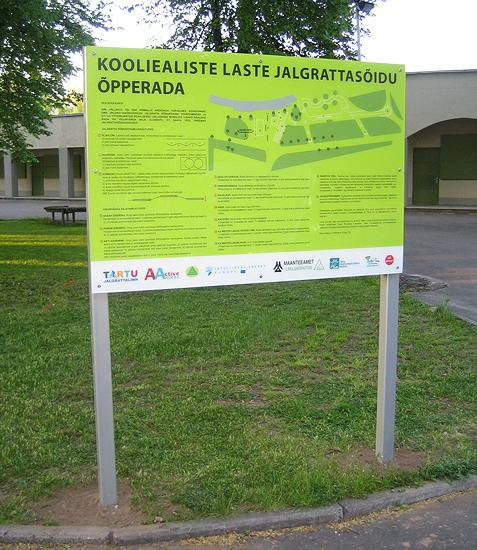 infotahvel - Tartu linn
