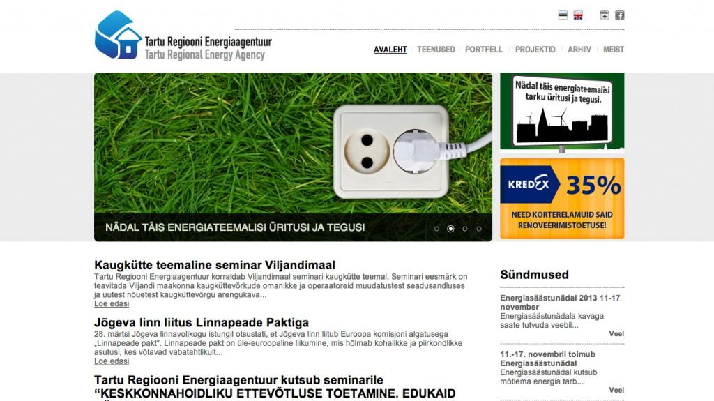 www.trea.ee - Tartu Regiooni Enegiaagentuur